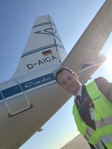 Pilot bei Condor