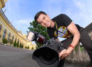 Alexander mit seiner Kamera