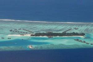 Die Malediven von oben