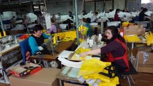 Hier werden die Taschen hergestellt
