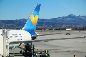 Mit Condor nach Las Vegas