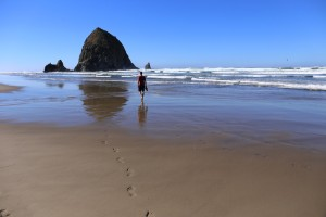 Haystack Rock am Cannon Beach