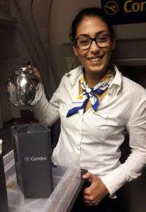 Kaffee kochen bei Condor?