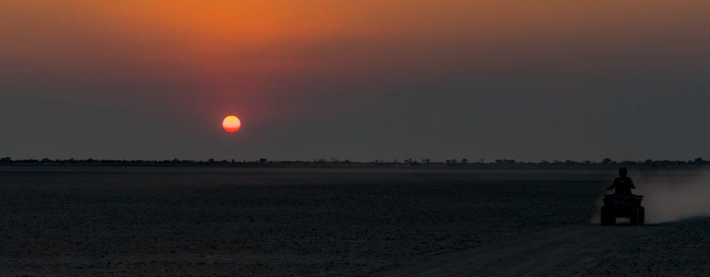Gweta Sonnenuntergang