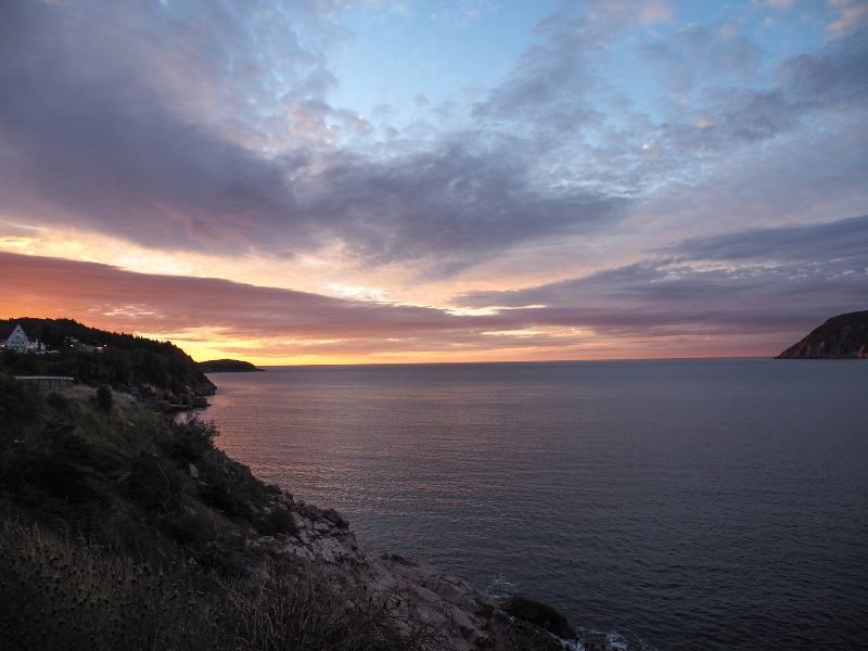 Cape-Breton Sonnenuntergang