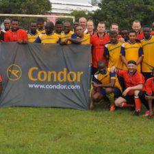 Fußballtunier auf Jamaika