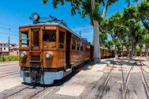 Eisenbahn von Palma nach Sóller