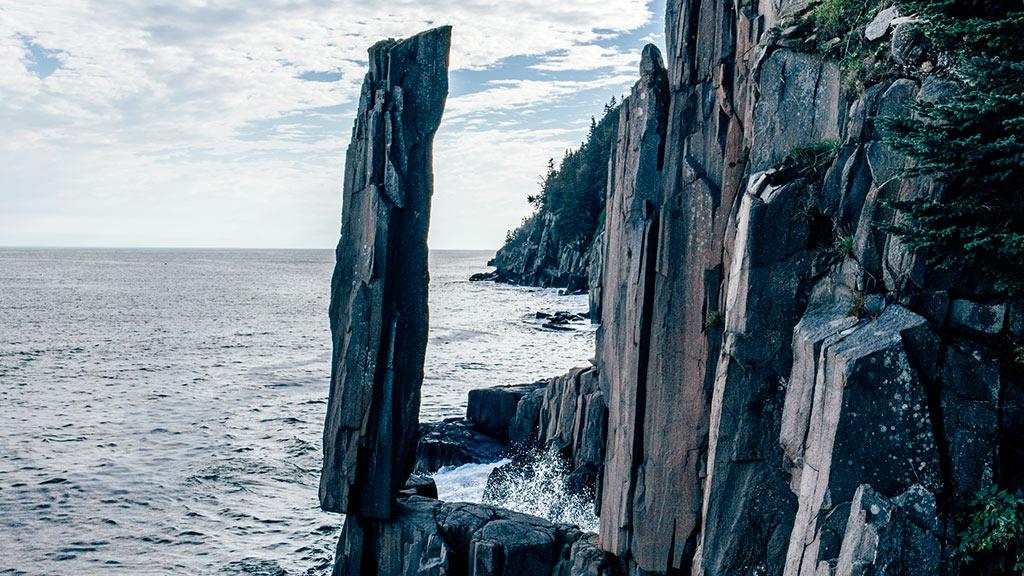 Balancing Rock, Nova Scotia, Kanada