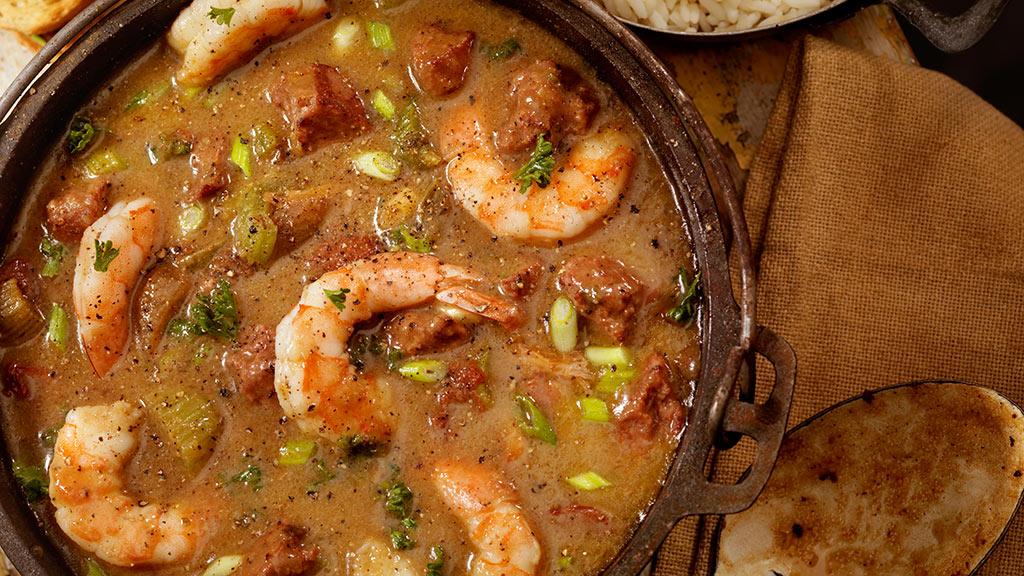 Gumbo, Cajun, Südstaaten-Küche