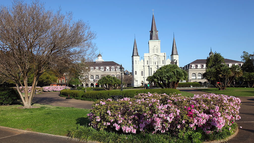 Jackson Square, St. Louis Cathedral