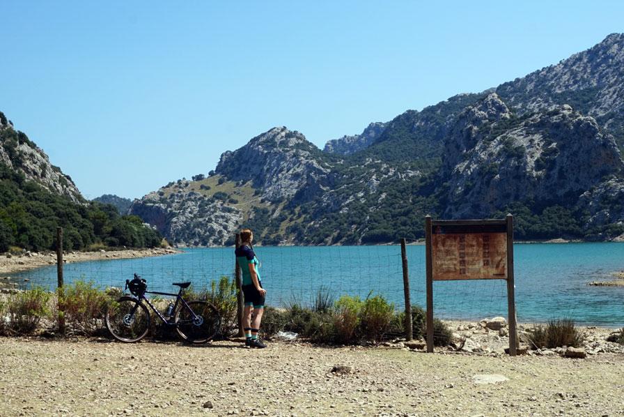 Mallorca, Stausee Cuber, #BikeMallorca