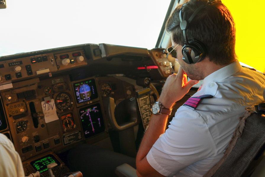 FlyPink, Condor, Cockpit, Pilot