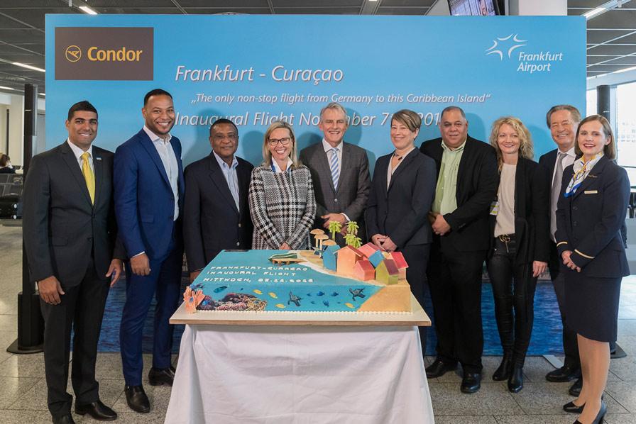 Condor, Erstflug Curacao, Ralf Teckentrup