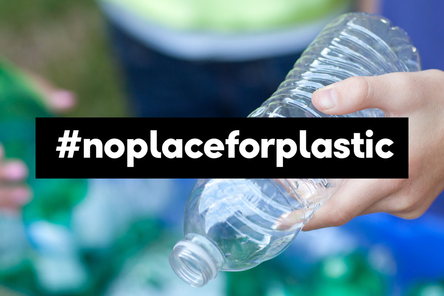 #noplaceforplastics, plastikflasche, Condor, Thomas Cook Group Airlines
