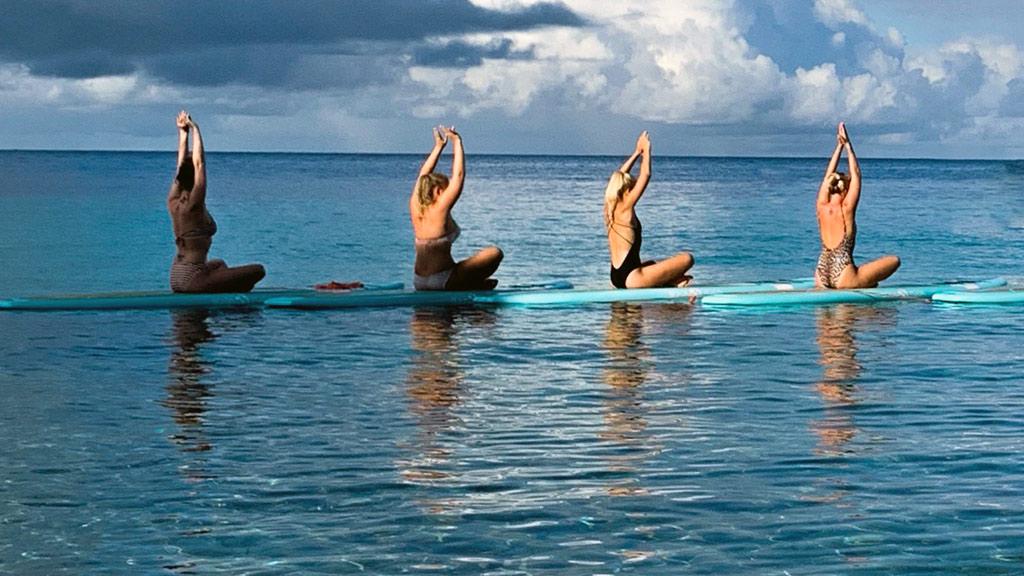 Curacao, SUP Yoga, Wassersport