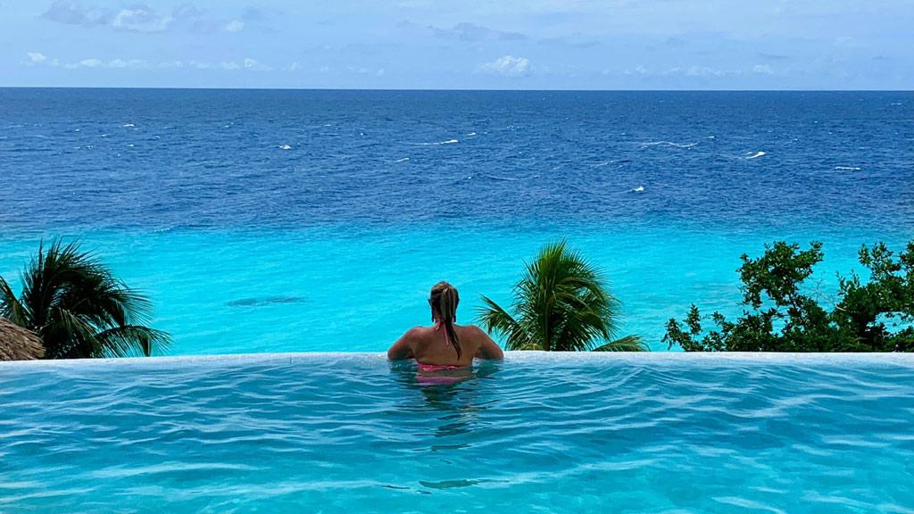 Curacao, Pool, Meer