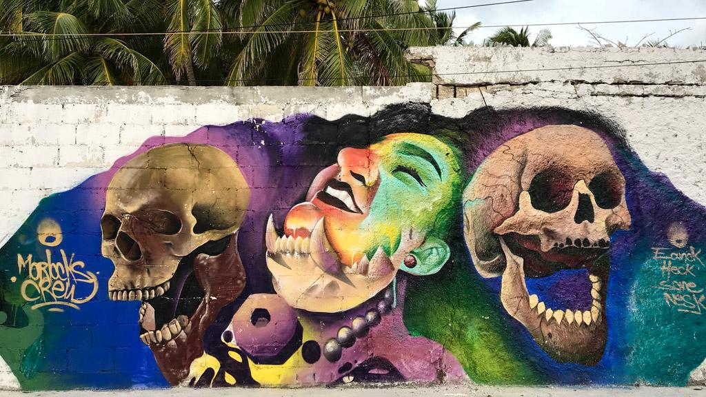 Isla Mujeres, Street Art