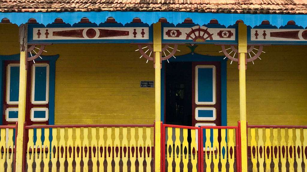 Isla Mujeres, Häuser