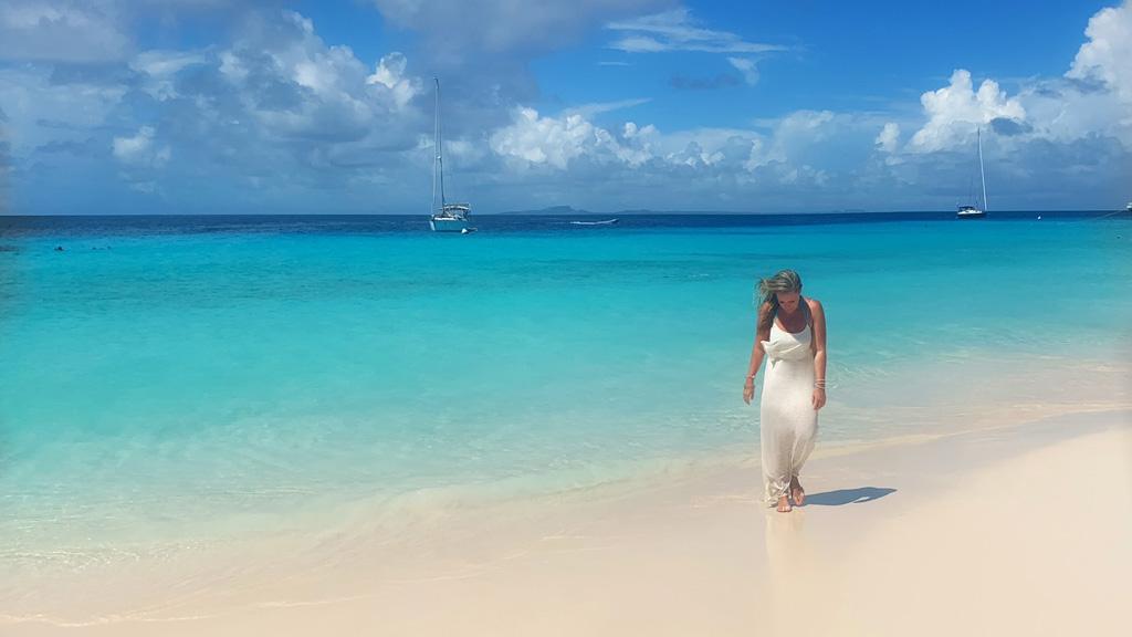 Curacao, Klein Curacao, Strand, Meer