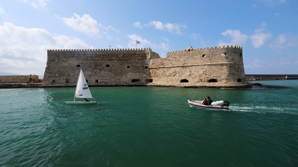 Heraklion, Koules, Festung