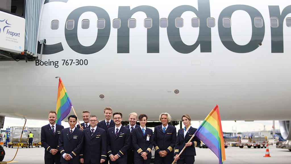 Condor, Pride, New Orleans, Boeing 767