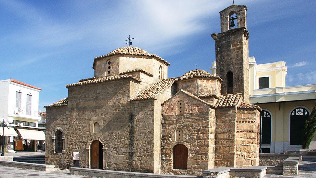 Kalamata, Kirche der Heiligen Apostel, Griechenland Guide