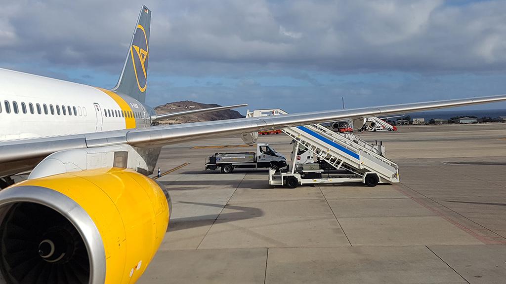 Condor Boeing 757-300 am Flughafen von Gran Canaria