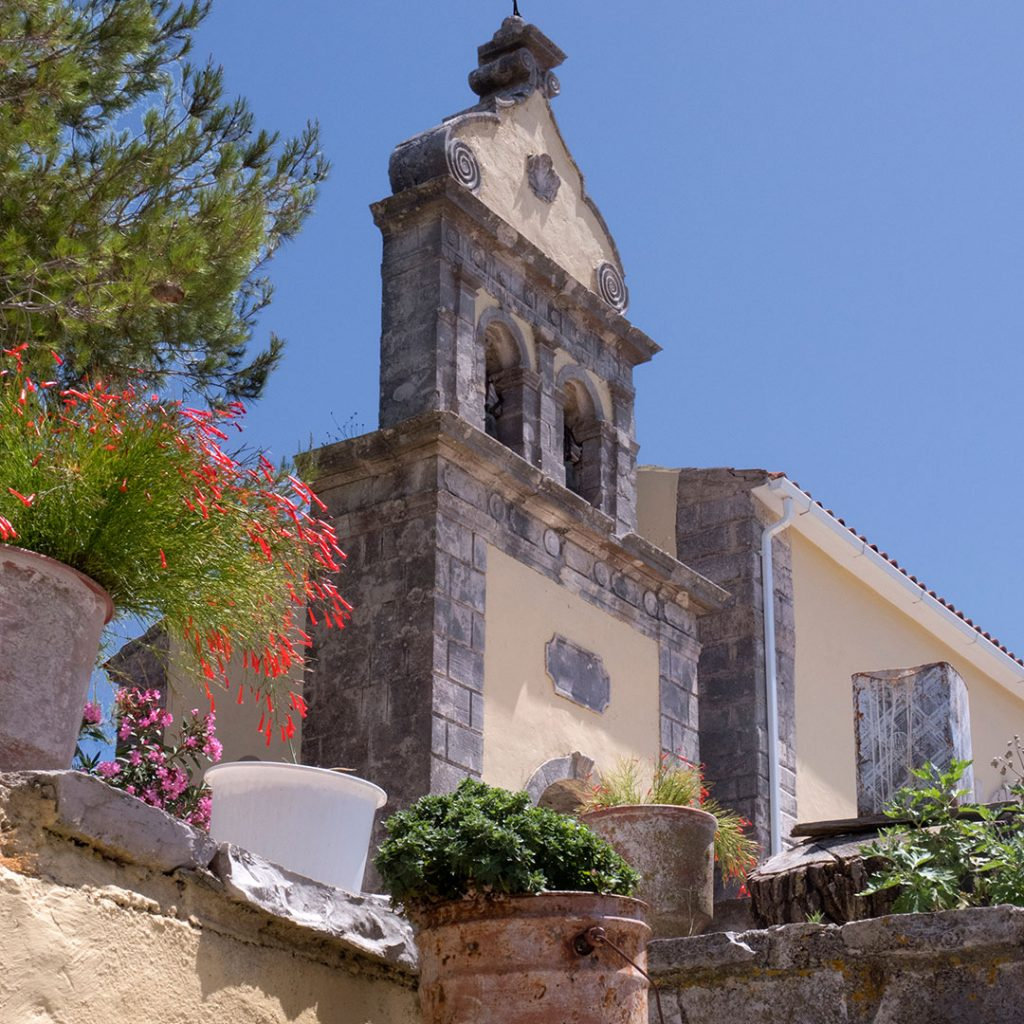 alte Kirche in Volimes auf Zakynthos