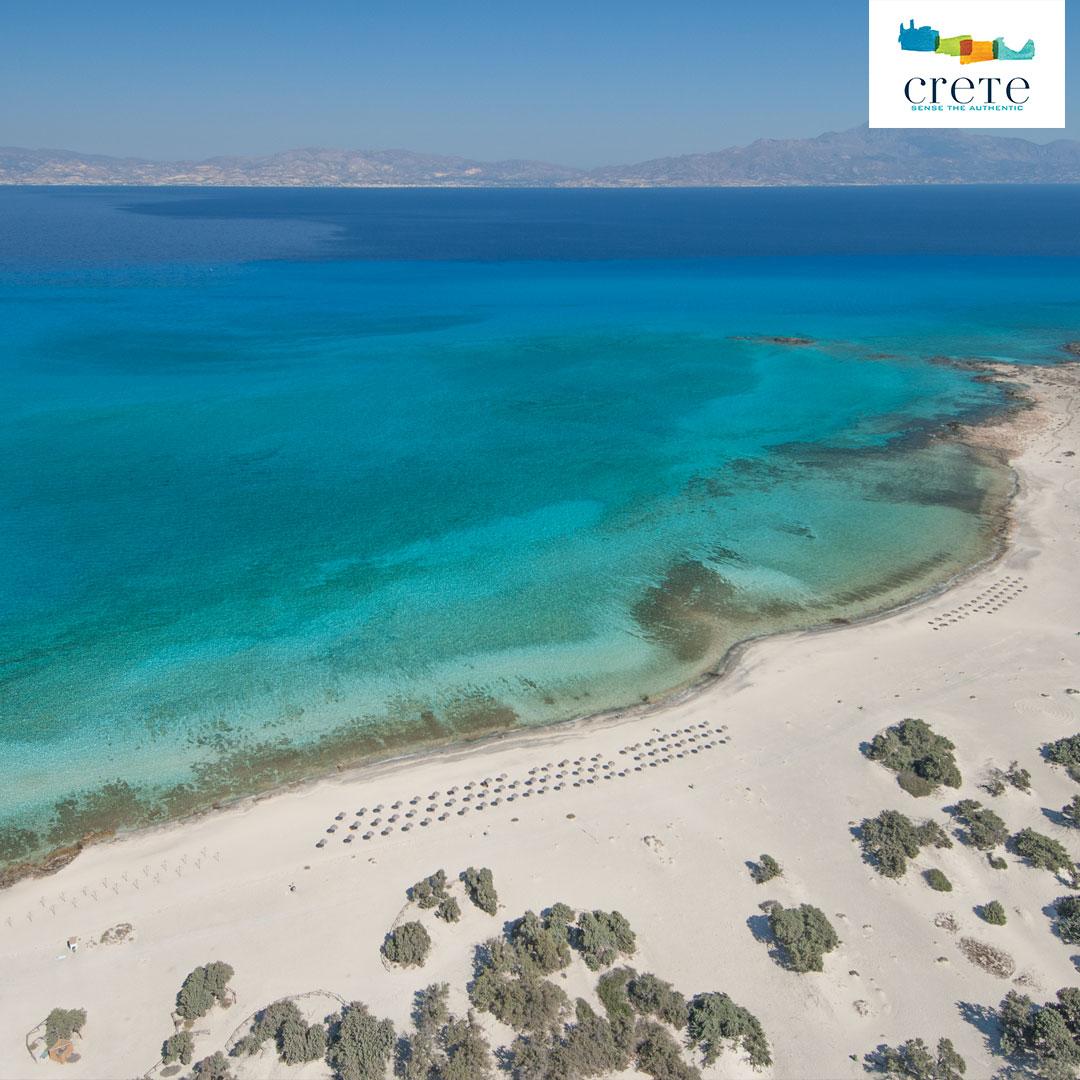 Der Belegrina Strand auf der Insel Chryssi