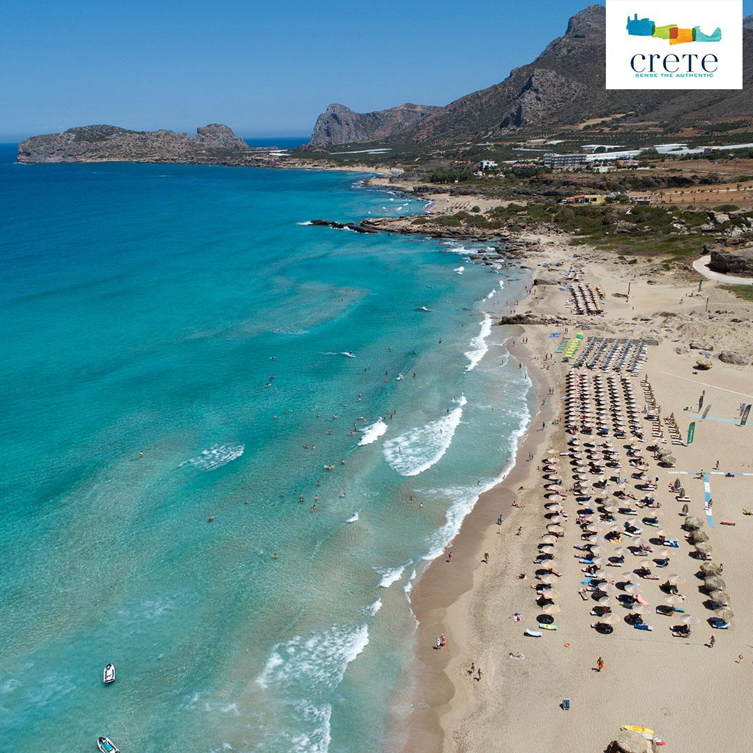 Falassarna Strand auf Kreta