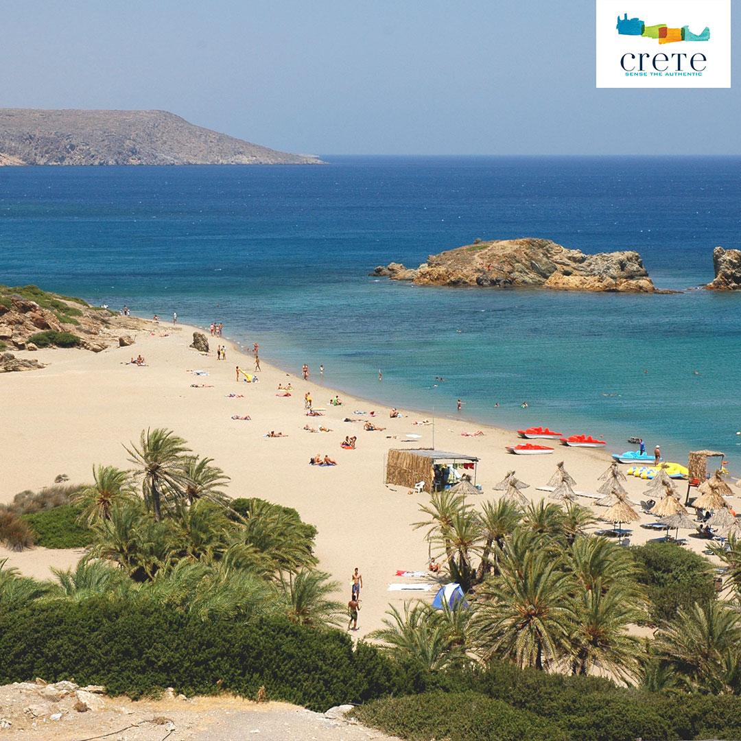 Der Palmenstrand Vai auf Kreta