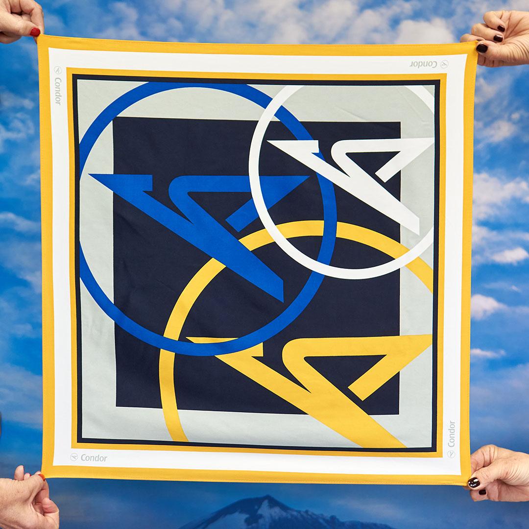 Condor Halstuch mit Condor Logo