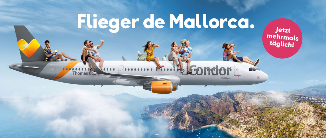 Condor Mallorca Flug ab 39,99 €*