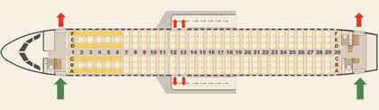 A320 beste plätze 200 airbus Airbus A320