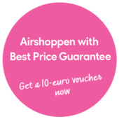 Shop for your duty free with Airshoppen and get a best price guarantee